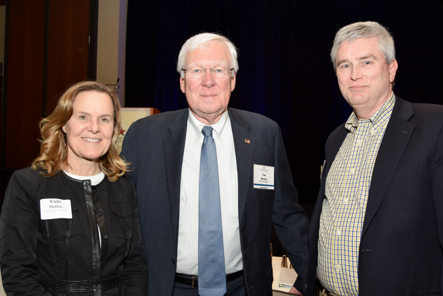Vicki Mullins, CFO, Ted Nelson, COO, and Tim Durie, SVP