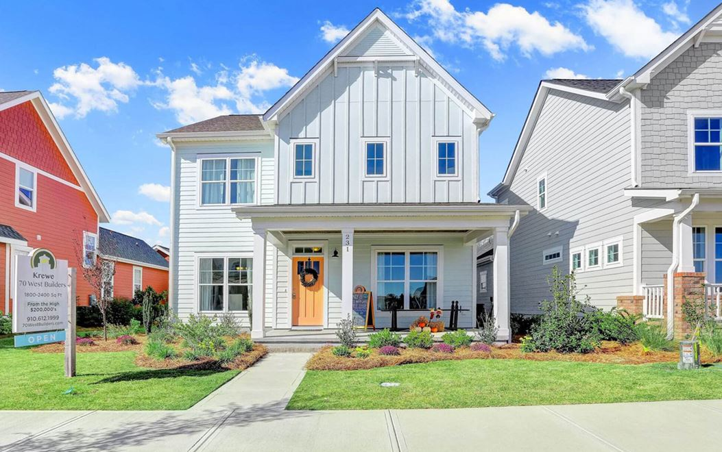 70 West Builders model home in Riverlights community