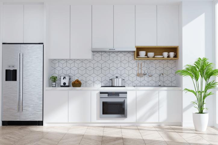 Millennials Want Clean, White Kitchens