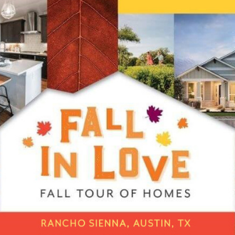 Fall Tour of Homes at Rancho Sienna in Austin Texas